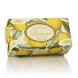 Jabón de limón, redonda 6 St 50 g, italiano hecho a mano de...