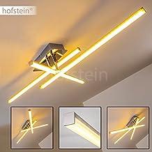 Moderna Lampara de techo LED Georgina - 3x LED 5 Watt alta eficiencia - 500 Lumens cada Luz 3000K blanco cálido - Brazo flexible para cambiar el diseño