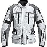 Pharao Motorradjacke Motorradschutzjacke Protektorenjacke Textil/Leder Herren XL