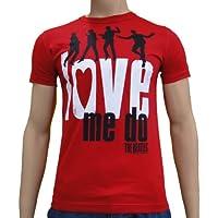 The Beatles - Love Me Do Logoshirt T-Shirt S-XXL