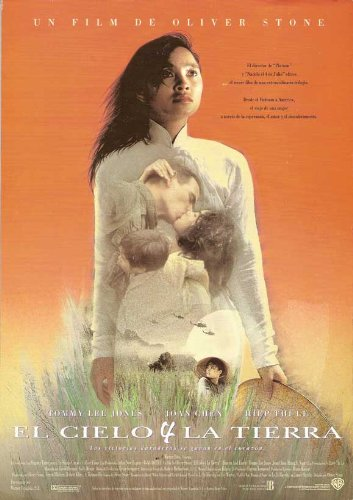 Heaven and Earth Plakat Movie Poster (27 x 40 Inches - 69cm x 102cm) (1993) Spanish