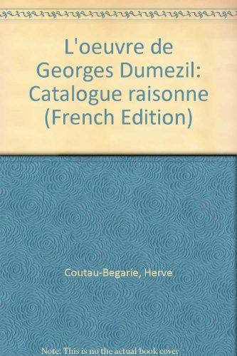 L'oeuvre de Georges Dumzil