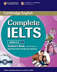 Complete IELTS Bands 4–5 Student's Book with Answers with CD