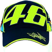 Valentino Rossi VR46 Moto GP Signature 46 azul Gorra Oficial 2017
