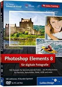 Photoshop Elements 8 fr digitale Fotografie [import allemand]