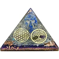 Reikiera Geschnitztes Gesicht Multi-Stone Orgon Pyramide Reiki Gemstones Energy Generator preisvergleich bei billige-tabletten.eu