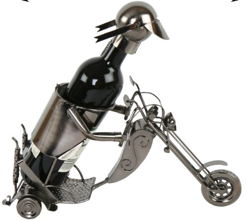 Flaschenhalter Motorrad Harley Davidson Weinflaschenhalter Weinständer Edelstahl