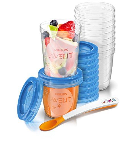 philips-scf721-20-avent-juego-de-recipientes-para-comida-de-bebe-con-tapa-incluye-10-recipientes-de-
