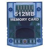 BeonJFx Professional 512 MB Videospiel-Speicherkarte für Nintendo Wii Gamecube Konsole