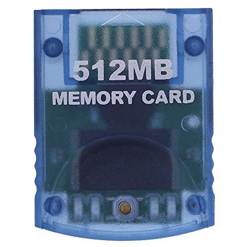 strimusimak Videospiel Speicherkarte 512 MB für Nintendo Wii Gamecube Konsole