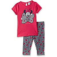 OVS Baby Girls 191JOG290-227 Two Pieces Set, Pink (Paradise Pink 1274), 18-24