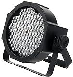 Showlite FLP-144W Flatline Panel LED Scheinwerfer (PAR Strahler, Discolicht, Bühnenbeleuchtung, Lampe, 144 LED/RGBW mixing, Anschlüsse: DMX In/Out, 6 DMX Modi)