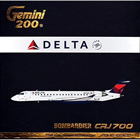 Gemini200 CRJ-700 Delta Connection Airplane Model (1:200 Scale) by Gemini