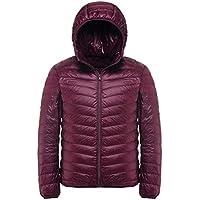 Mochoose Men's Winter Hooded Down Puffer Jacket Coat Packable Ultra Light Weight