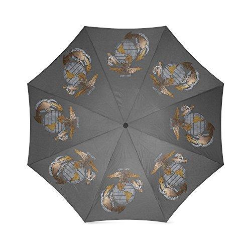 USMC Marines emblema, US, Estados Unidos Infantería De Marina, Semper FI alta calidad plegable paraguas
