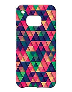 Pickpattern Hard Back Cover for HTC One M/9
