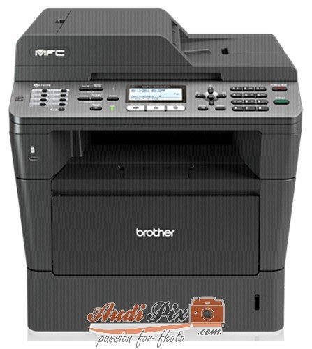 Brother MFC-8520DN Monolaser-Multifunktionsgerät (Scanner, Kopierer, Drucker, Fax, 1200 x 1200 dpi, USB 2.0) grau