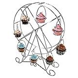 Creative Edelstahl Riesenrad Cupcake Display Ständer Halter Kaffeebereiter Neuheit Cup Cake Ständer–für ein schönes Cupcake Display bei Partys, Baby Duschen und Hochzeiten