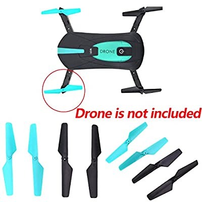 Cewaal 4 Stücke Ersatz Propeller Blades Requisiten Ersatzteile Für JY018 Folding 4-achs RC Quadcopter Drohne