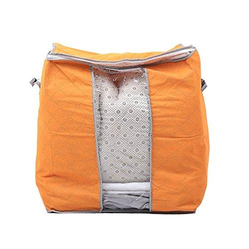 attachmenttou Startseite Underbed Kleidung Bambuskohle Speicher Organisator Beutel Beutel Universal -