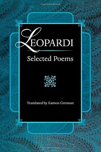 Leopardi, Selected Poems