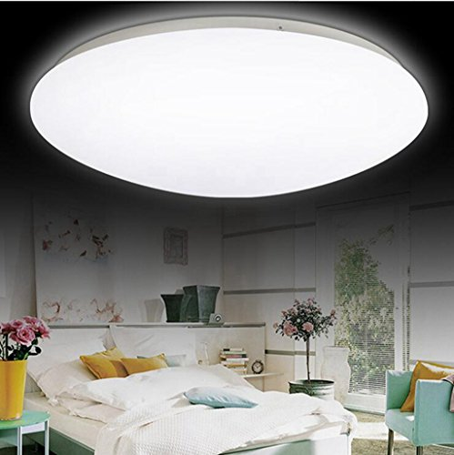 jingzou ingegnere LED acrilico moderno camera soggiorno luci della lampada balcone cucina minimalistas di soffitto (Oro Rotonda A Cupola A Soffitto)