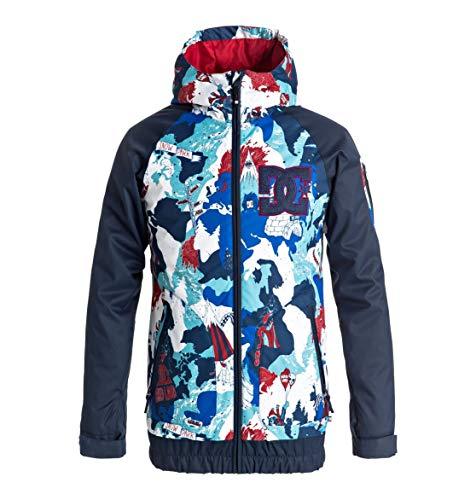 DC Shoes Troop - Snow Jacket for Boys 8-16 - Snow Jacke - Jungen 8-16 - Blau