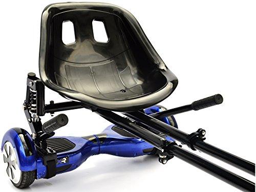 Inmotion Kart negro. Convierte tu hoverboard en un fantástico hoverkart. Apto para hoverboards de 6'5,8 y 10'