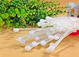 RICISUNG Cable Ties 2.5 x 100mm Pack of 100(White)