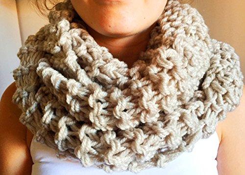 Bufanda moda mujer cuello piedra
