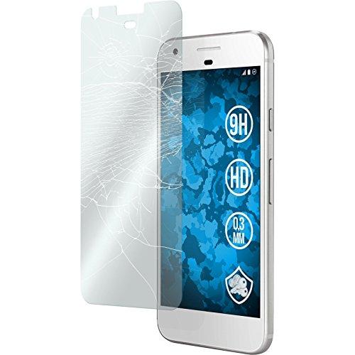 2 x Google Pixel Glas-Folie klar PhoneNatic Panzerglas für Pixel