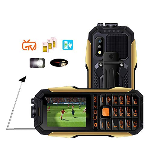 Handy für ältere MenschenIm Freien Free-TV Batterie mit großer Kapazität Lange Bereitschaft Tastentelefon Gsm-free Batterie