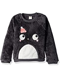Gymboree Toddler Girls' Long Sleeve Fuzzy Pullover