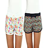 Women's, Night Shorts, Printed,XL