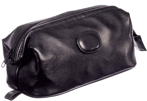 Milano Men's Framed Top Zip Toiletry Bag