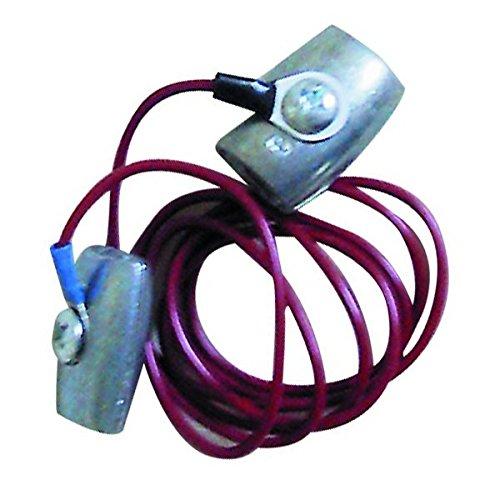 Göbel Weidezaun Elektrozaun Zubehör Anschlusskabel Stromverbinder für Seil oder Litze bis 6mm