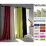 TEXTURAS HOME SECRET - Cortina con Ojales BLACKOUT Efecto FOSCURIT 260x140 cms ( Varios colores disponibles ) (BEIGE)