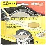 Trimbrite T1222 Trim Stripe Gold 1/4 Tape by Trimbrite