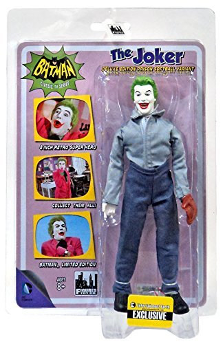 Batman Classic TV Series 8 Inch Action Figure: Joker In Softball Outfit