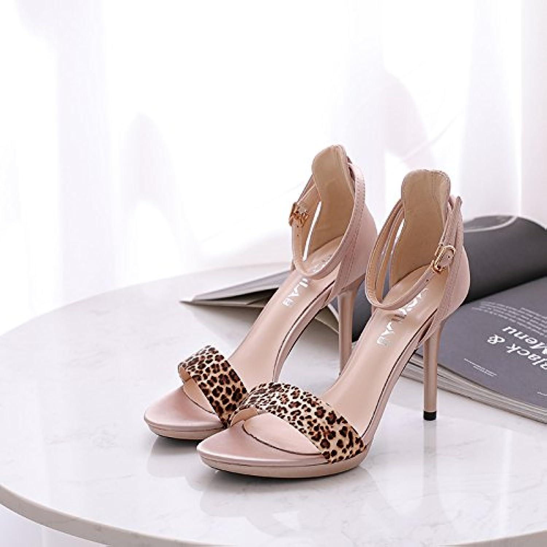 GAOLIM Ranurado con Sandalias Mujeres Bellas con Gráficos De Verano Blanco Zapatos De Mujer Zapatos De Mujer El...