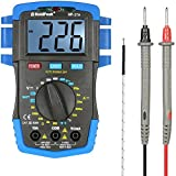 KUNSE Holdpeak Hp-37A Backlight LCD Digital Multimeter Dc/Ac Spannungs Stromzähler Widerstands Temperatur Batterie Diode Continuity Tester