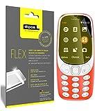 dipos I 3X Schutzfolie 100% passend für Nokia 3310 Folie (Vollständige Bildschirmabdeckung) Bildschirmschutzfolie