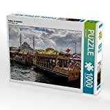 Hafen in Istanbul 1000 Teile Puzzle quer