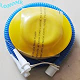 LOHOME Plastic Bellows Foot Pump Bicycle Bike Air Toys Foot Operated Air Pump Inflator available at Amazon for Rs.6353