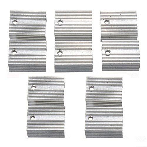 Ils - 30 stücke Aluminium Kühlkörper Kühlkörper Für TO-220 L780xCV Drei Terminal Positive Spannungsregler
