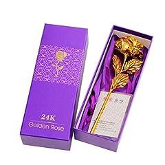 Idea Regalo - Tinksky Romantico Rose fiore e Handcrafted Gift Box- Miglior regalo per il giorno di San Valentino Festa della Mamma Natale