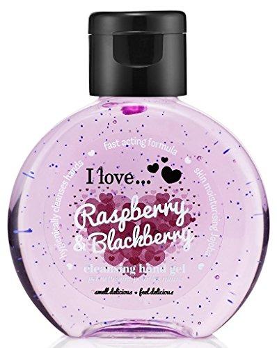 I Love... Raspberry & Blackberry Cleansing Hand Gel 65ml