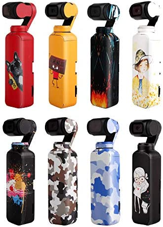 Amyove Accessoires pour Radio ComFemmedes Stickers Stickers Accessoire Skin pour Appareil Photo DJI OSMO Pocket Handheld 8 Couleurs   Belle Couleur