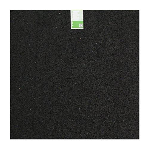 acerto Antivibrationsmatte aus Gummigranulaten, 60x60x1cm ✓ Besonders robust ✓ Hohe Dichte ✓ Universell einsetzbar als Waschmaschinen-Unterlage | Vibrationsdämpfende Waschmaschinen-Matte