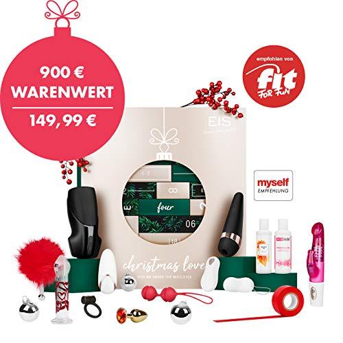 EIS Premium erotischer Adventskalender für Paare 2019, 24 sinnliche Sex Geschenke, Erotik Advent Kalender Warenwert 900 €